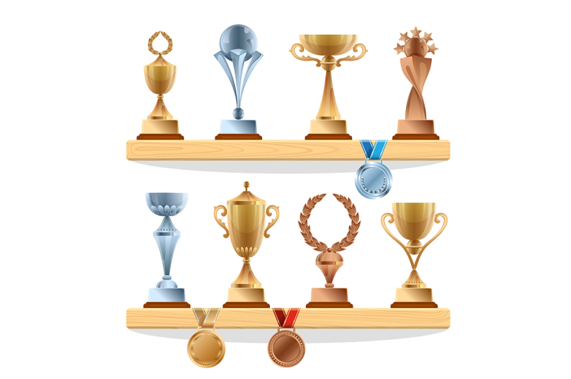 trophy-collections-on-the-shelf