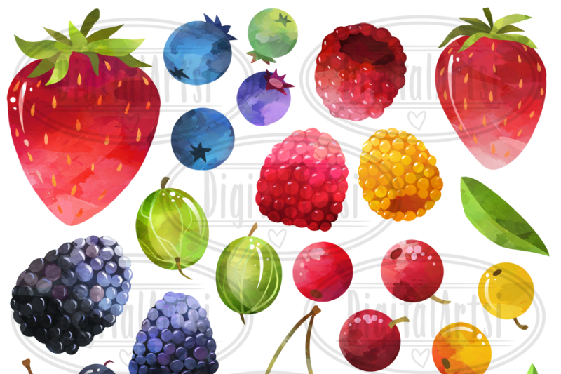 watercolor-berries-clipart