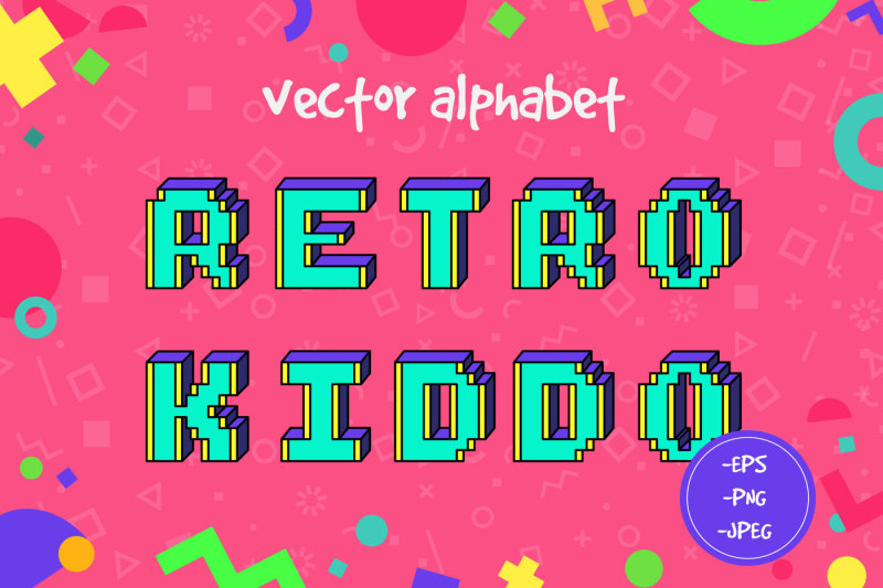 retro-kiddo-vector-alphabet
