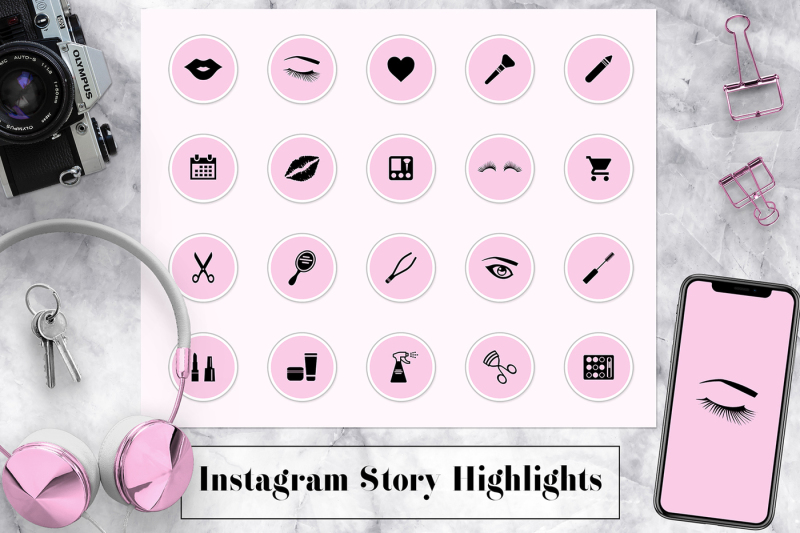 pink-instagram-story-highlights-icons