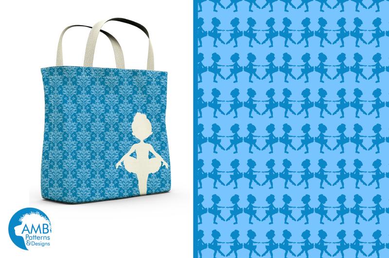 blue-ballerina-silhouette-patterns-amb-1950