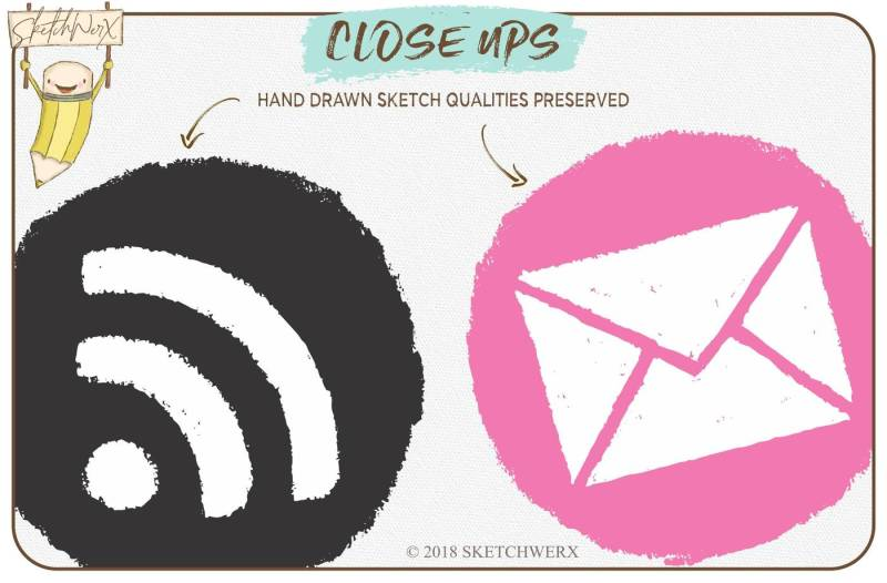26-hand-sketched-web-icons
