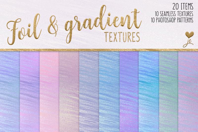 foil-and-gradient-textures