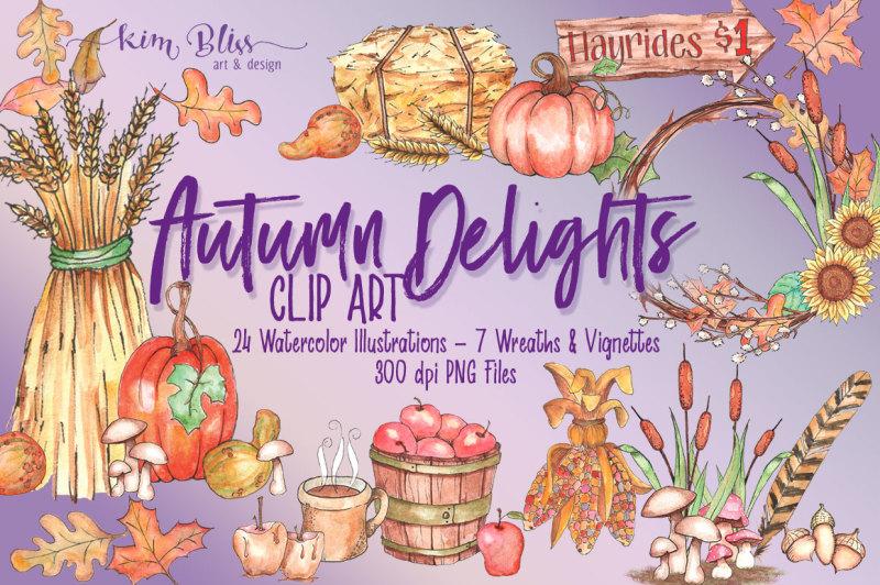 autumn-delights-clip-art-watercolor-illustrations
