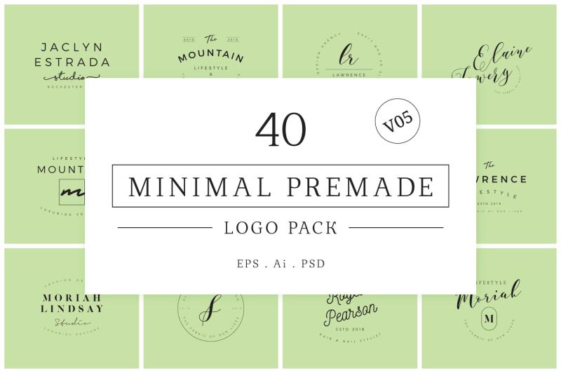 minimal-premade-logo-bundle-v05