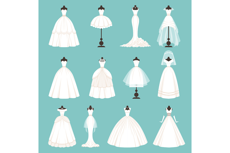 different-styles-of-brides-dresses