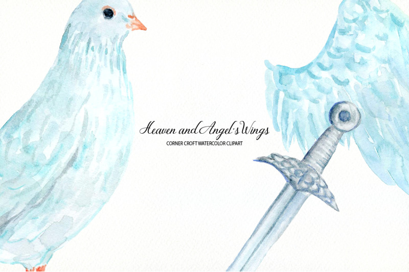 watercolor-heaven-and-angel-039-s-wings