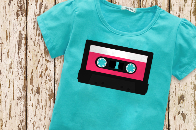 mix-tape-3d-or-flat-svg-png-dxf