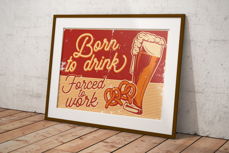 beer-object-set-posters-and-t-shirts