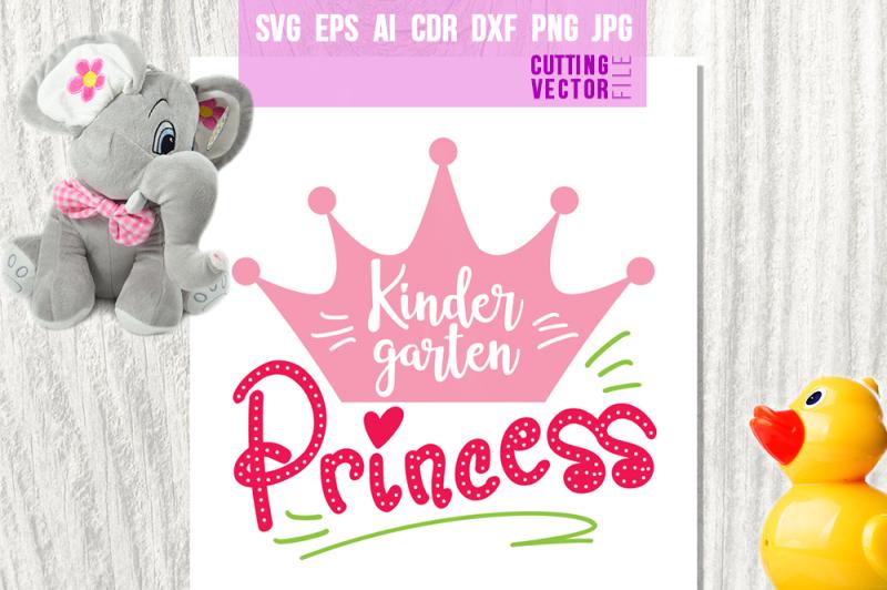 kindergarten-princess-svg-eps-ai-cdr-dxf-png-jpg