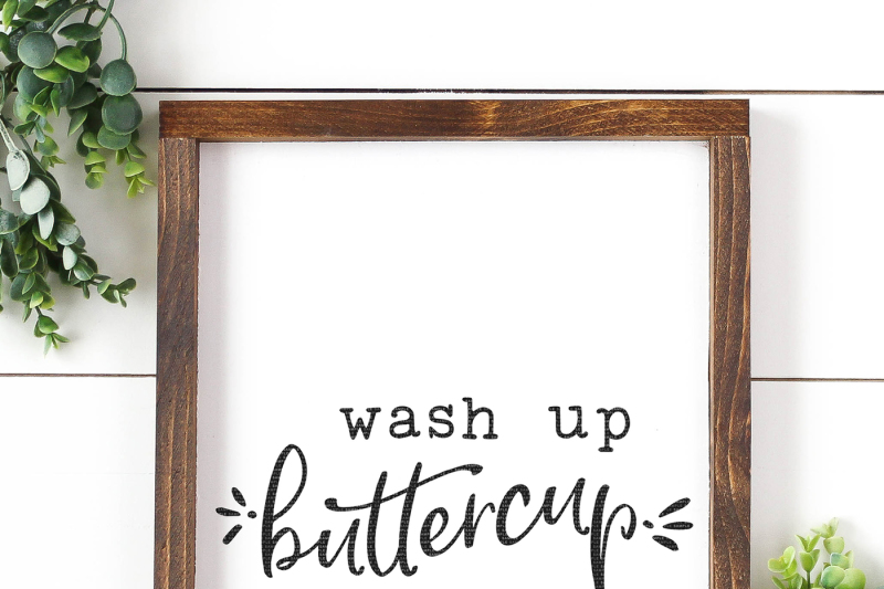 wash-up-buttercup-cut-file