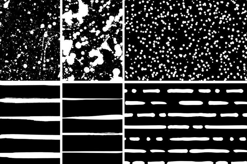 ink-splash-seamless-patterns