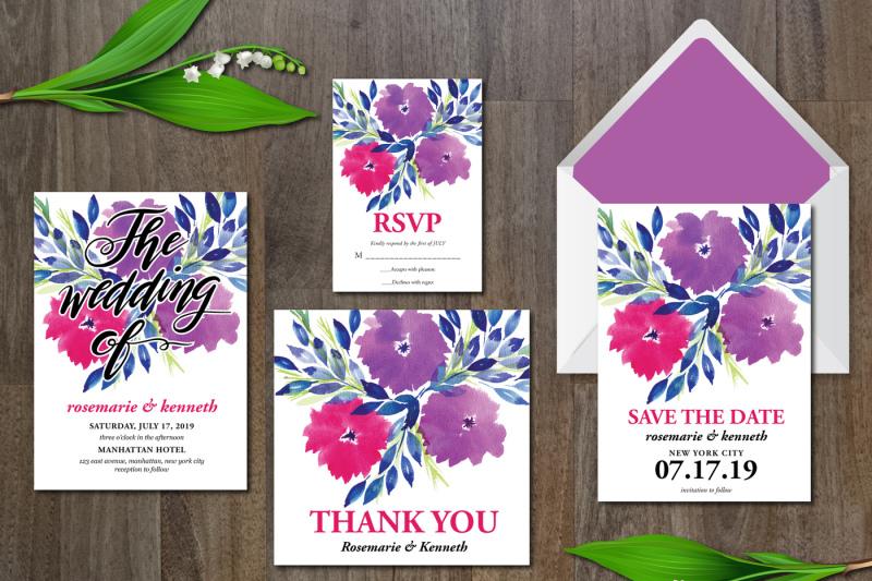 watercolor-flowers-wedding-suite