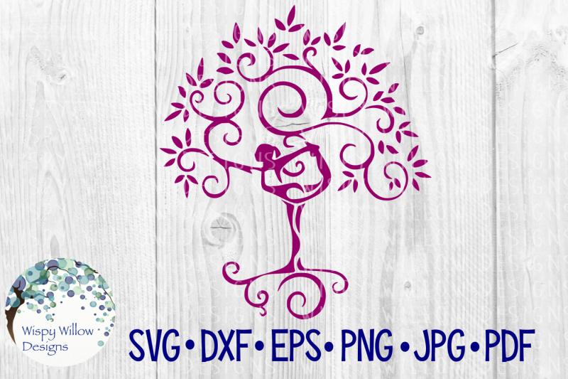 yoga-tree-dancer-svg-dxf-eps-png-jpg-pdf
