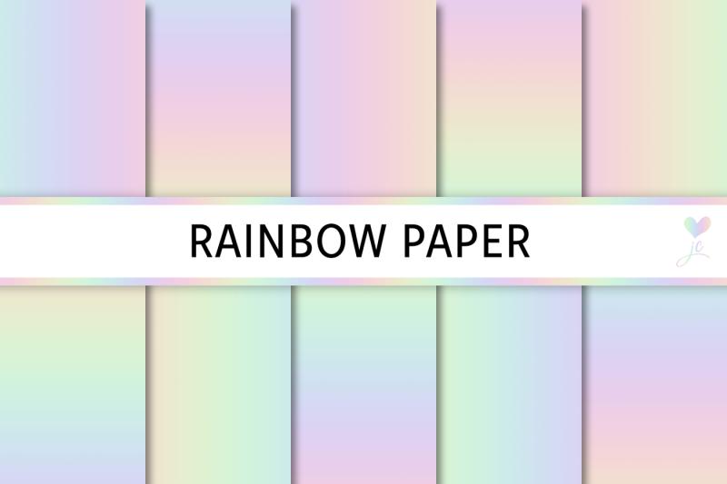 rainbow-paper