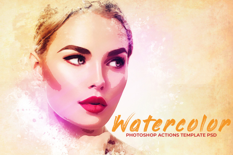 watercolor-photoshop-psd-template