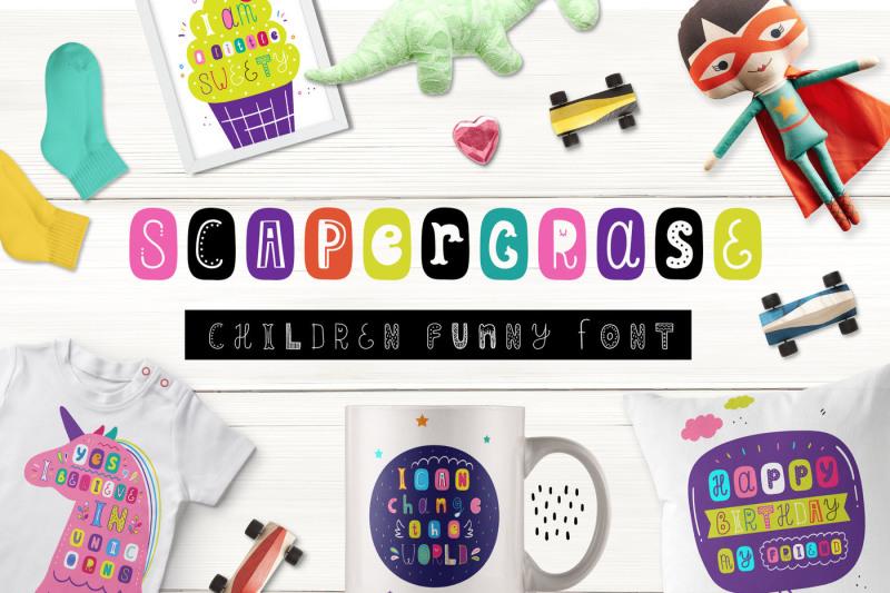 scapegrace-children-funny-font