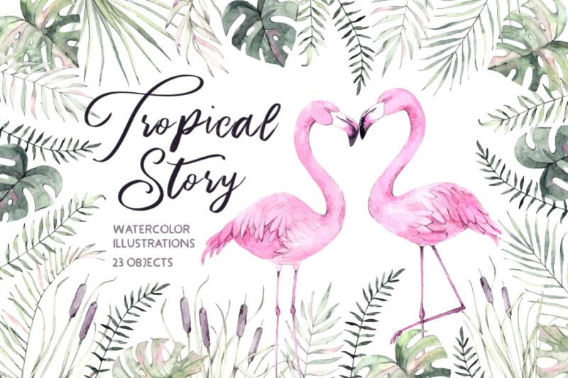 tropical-story-watercolor-set