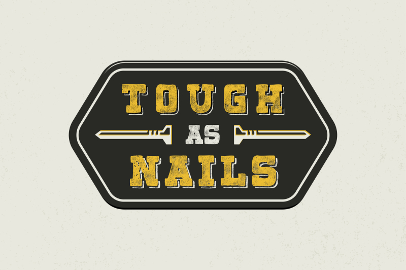 harsh-typeface