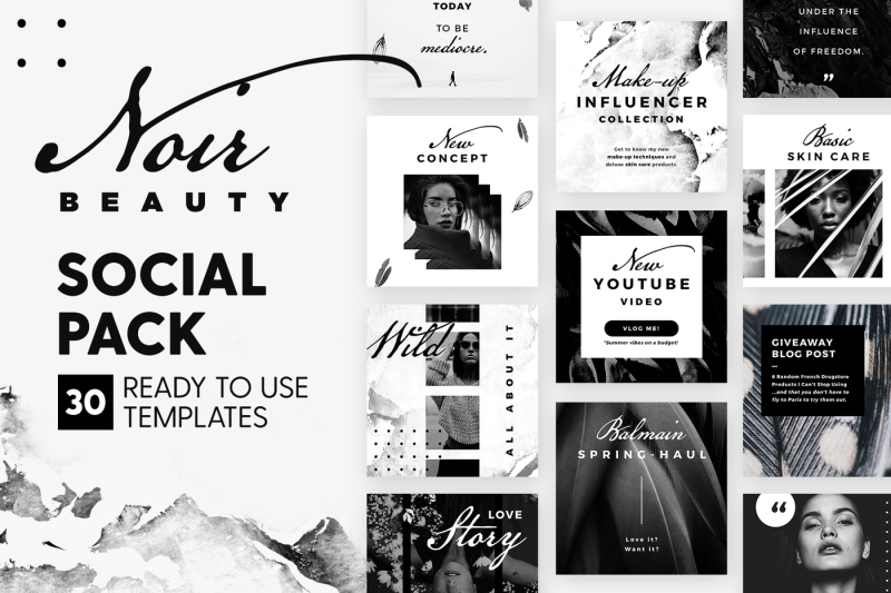 noir-beauty-social-pack