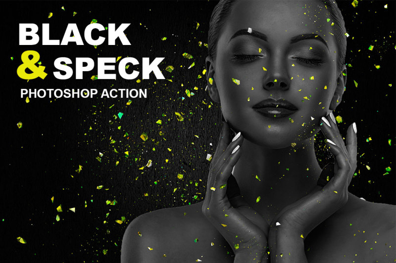 black-and-speck-photoshop-action