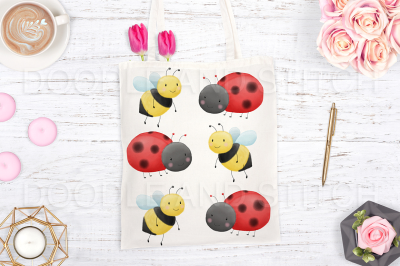 cute-bugs-watercolor-illustrations