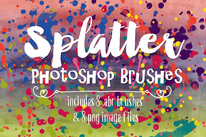 splatter-photoshop-brushes