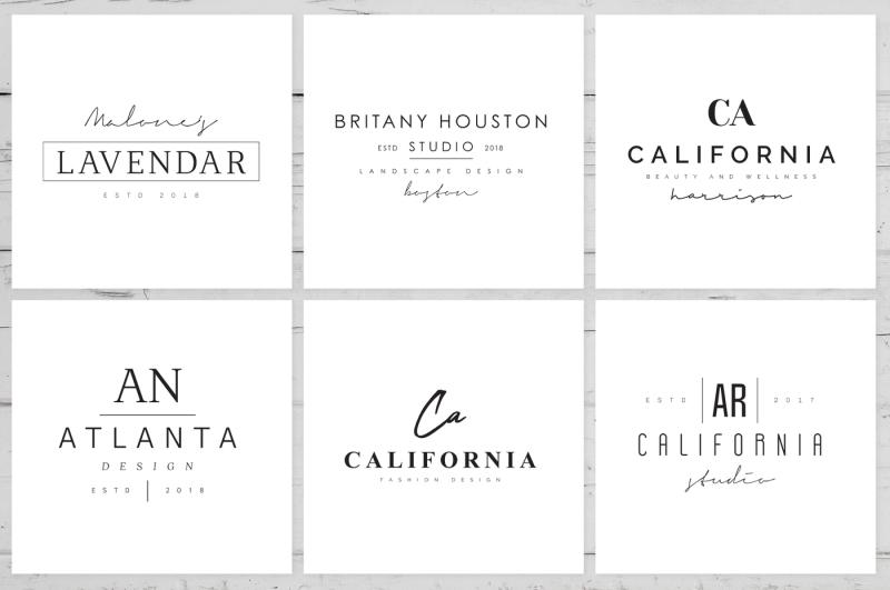 200-minimal-premade-logo-bundle