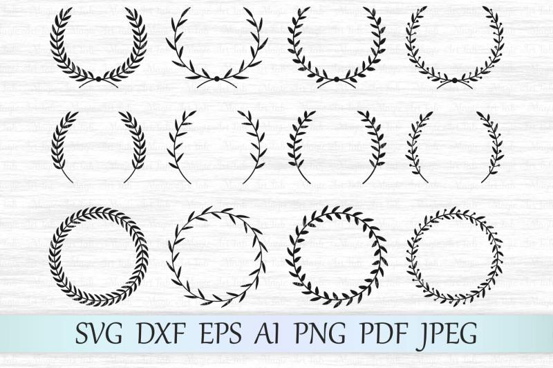 laurel-wreath-svg-dxf-eps-ai-png-pdf-jpeg