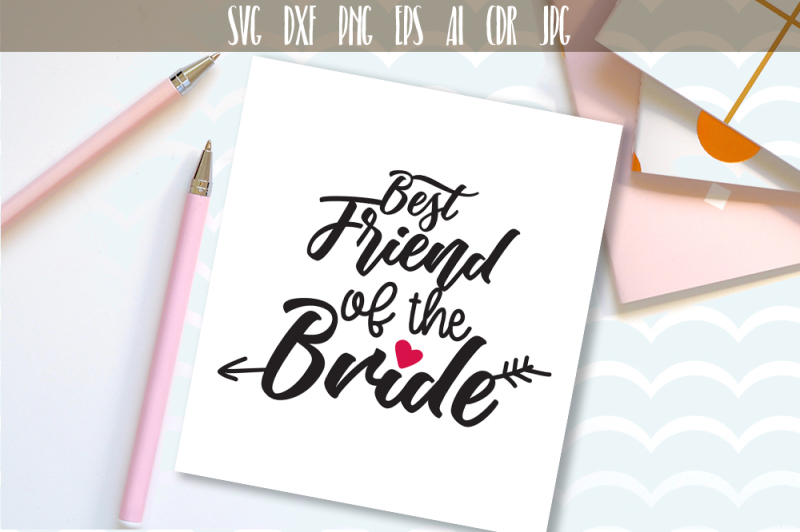 best-friend-of-the-bride-cutting-file-wedding-party