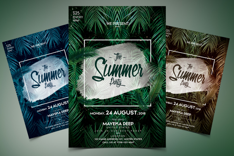the-summer-party-psd-event-flyer