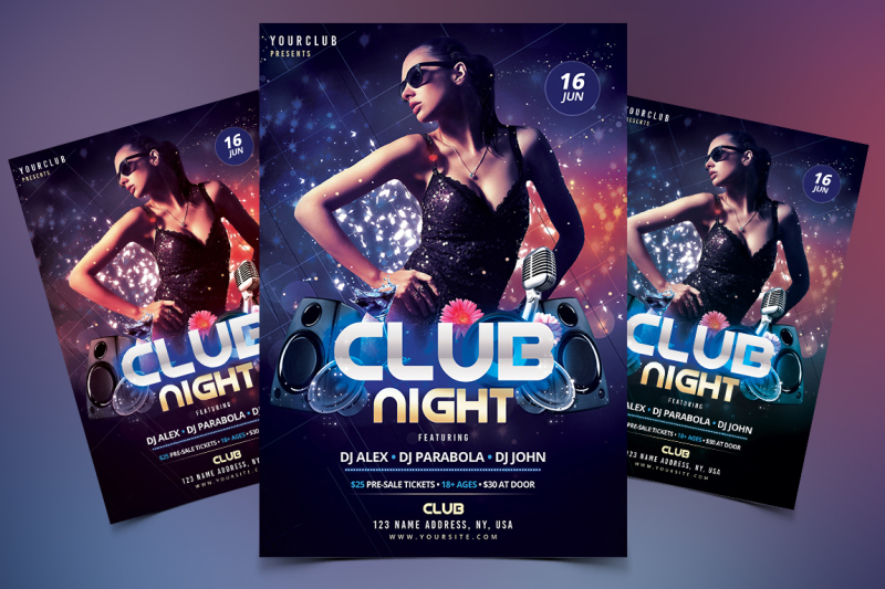 club-dj-psd-flyer-template