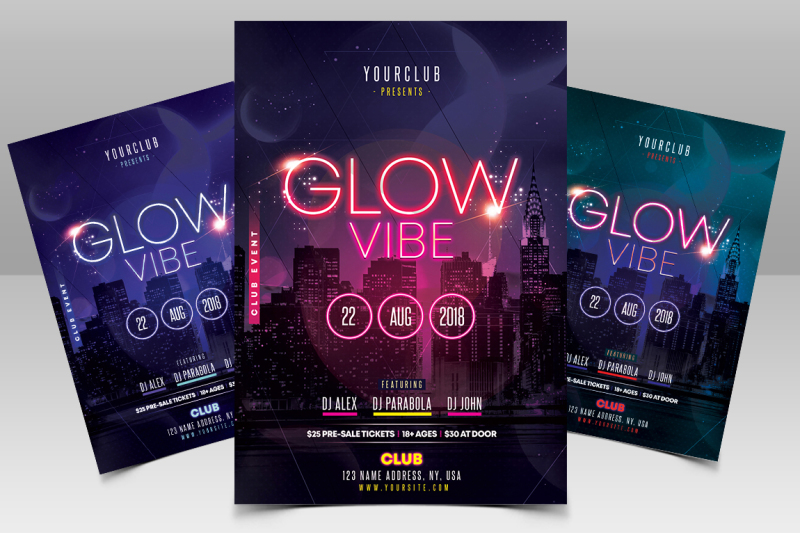 glow-vibe-party-psd-flyer-template