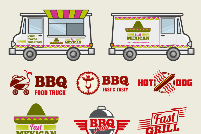 food-truck-vector-emblems-and-vehicle-template