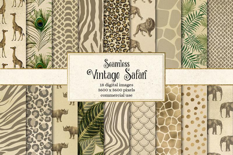 vintage-safari-digital-paper