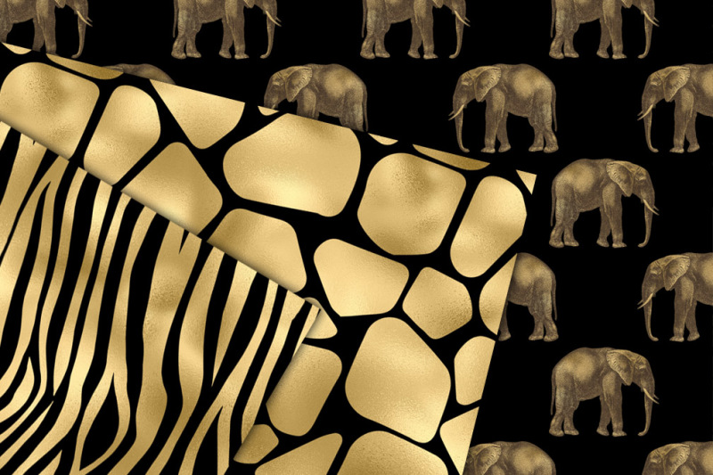 black-and-gold-animal-print