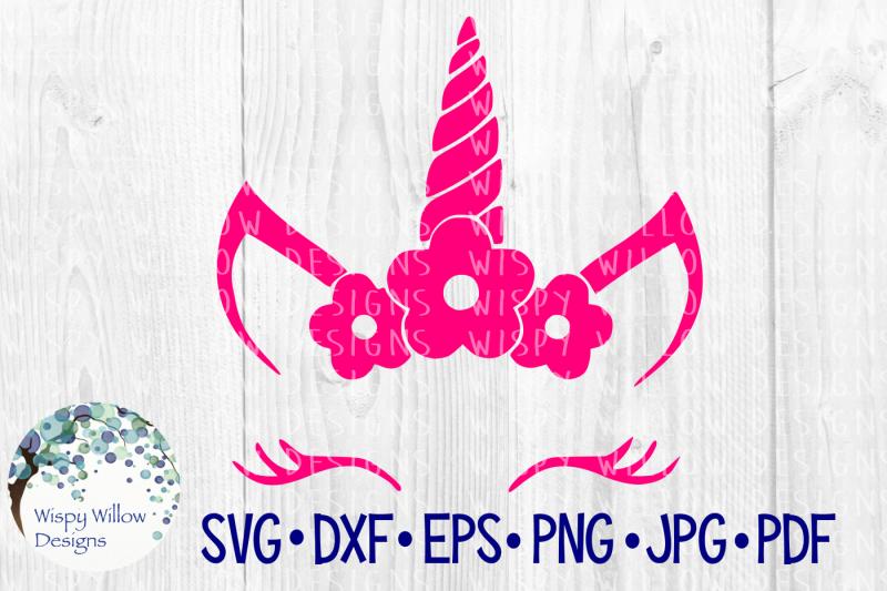 unicorn-flower-face-svg-dxf-eps-png-jpg-pdf