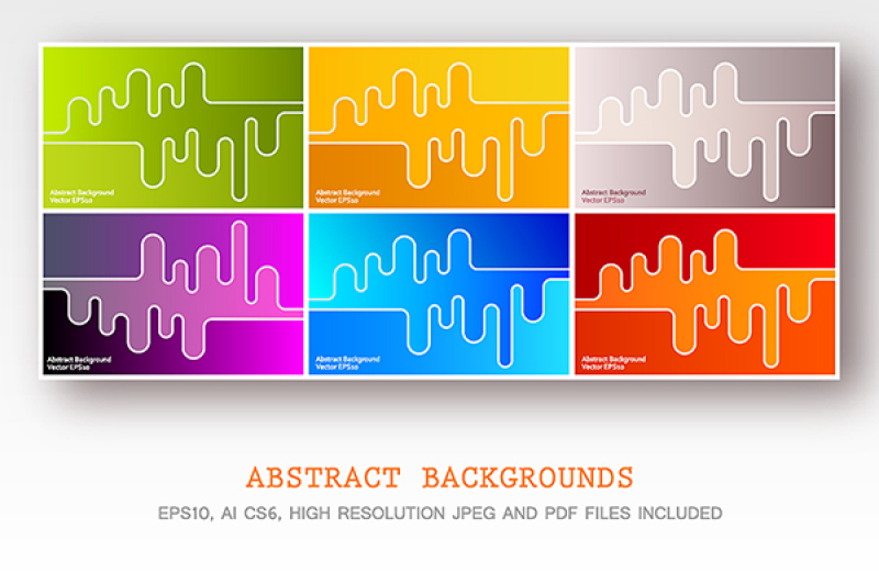 six-abstract-design-vector-backgrounds