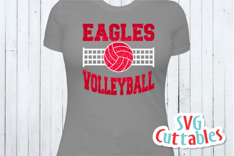 Volleyball Template Bundle 1 Svg Cut Files By Svg Cuttables