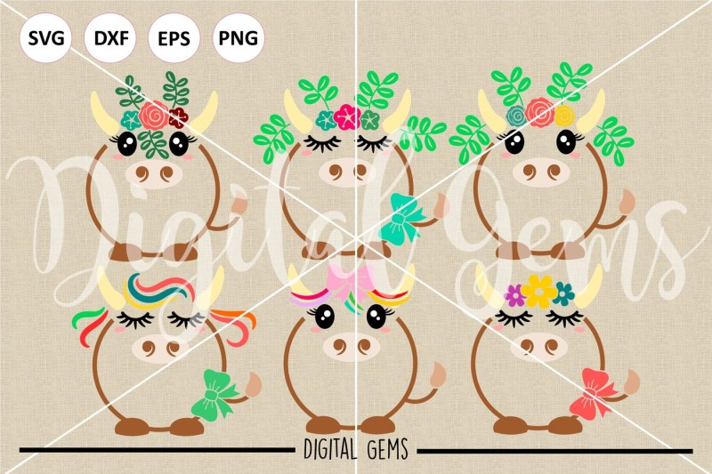 cow-svg-dxf-eps-png-files