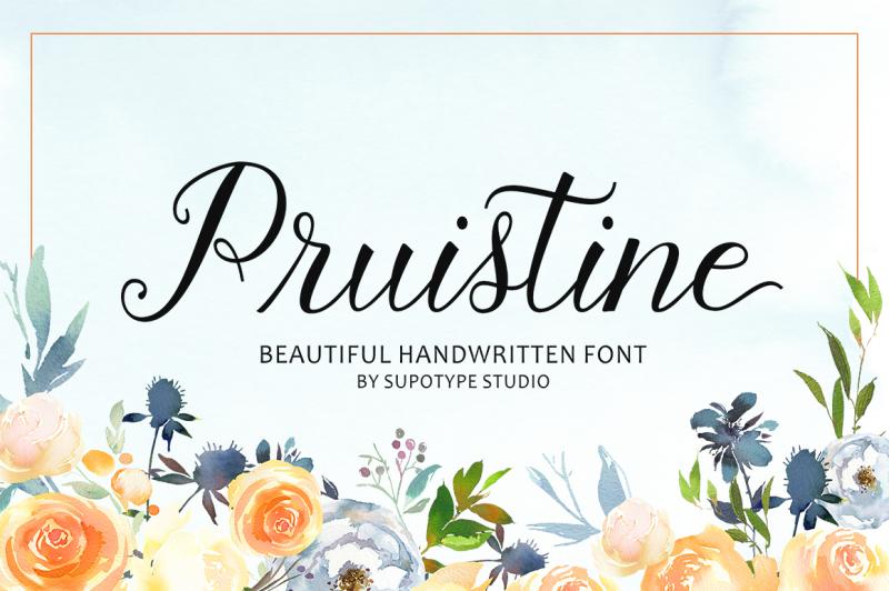 pruistine-script