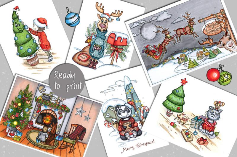 christmas-mood-clipart-and-postcards