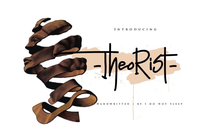 theorist-font