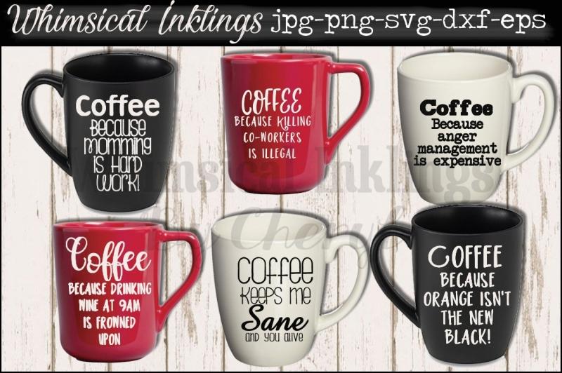 coffee-because-svg-mini-bundle