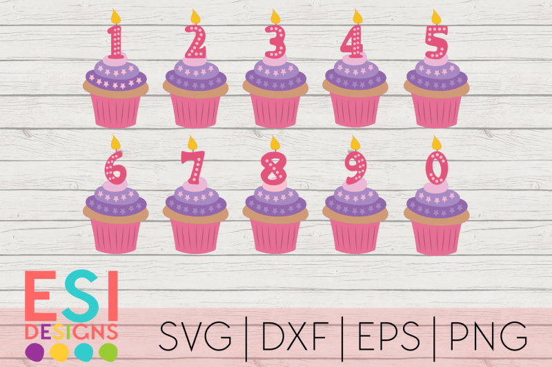 cupcake-birthday-candle-numbers-svg-dxf-eps-and-png