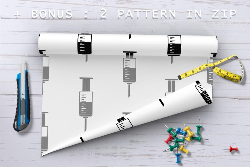 syringe-icon-set-simple-style