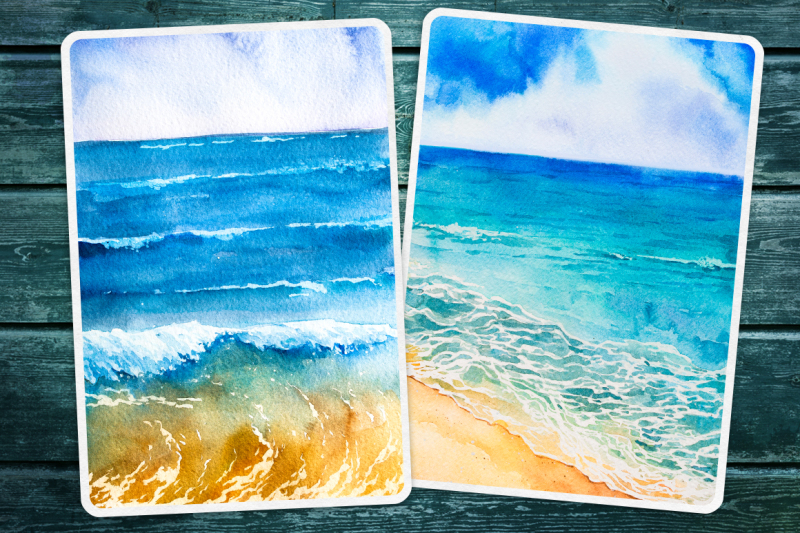 seascapes-2-watercolor-set