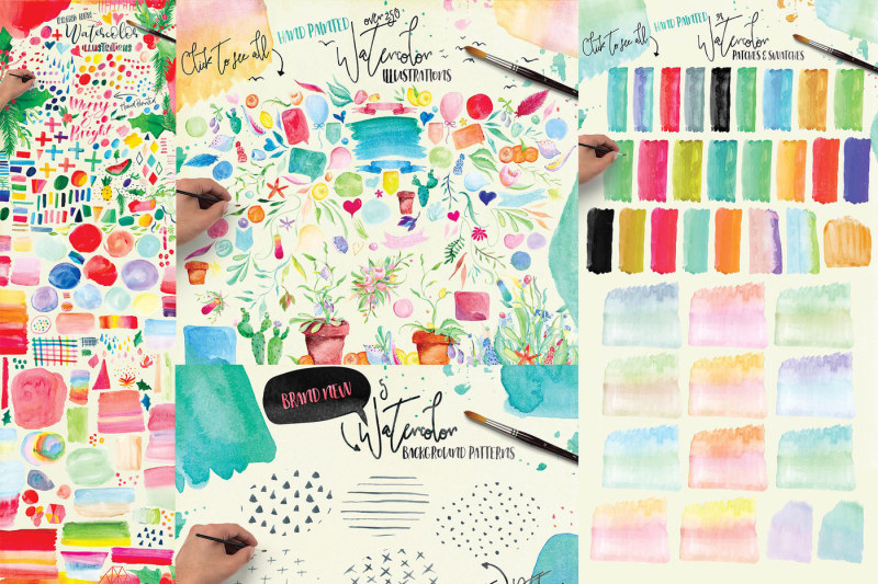 watercolor-graphics-bundle