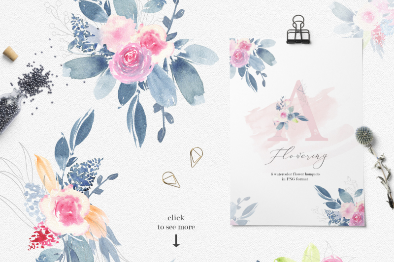flowering-watercolor-graphic-set