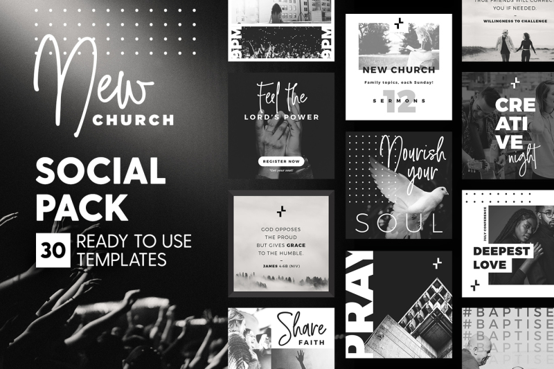 new-church-social-pack